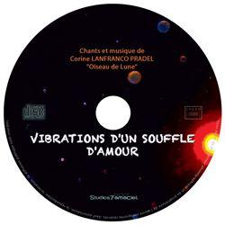 CD Vibrations dun souffle damour galette - CD Oiseau de Lune
