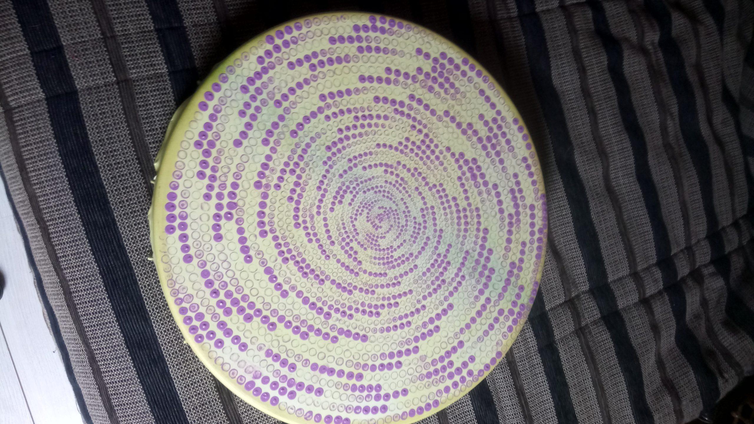 TAMBOUR SPIRALE DSC 0234 scaled - TAMBOUR CHAMANIQUE de 50cm de diamètre